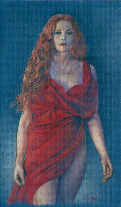 Lucy Lawless par mevelie